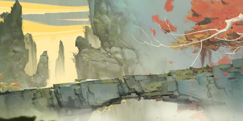 《軒轅劍龍舞云山》游戲場景