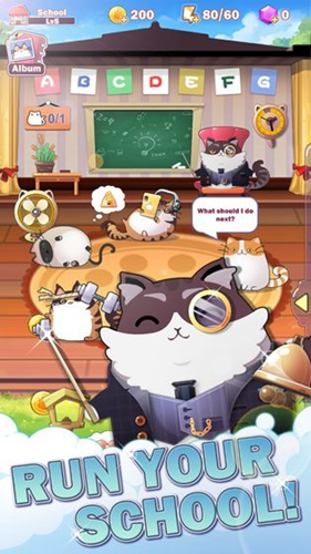 貓咪學校截圖2