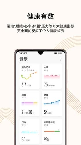 華為運動健康app安卓版截圖2