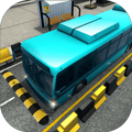 真實模擬巴士停車