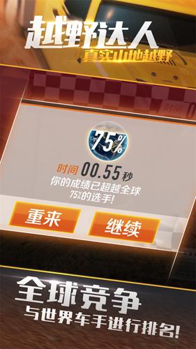 真實山地越野:4X4拉力賽截圖2