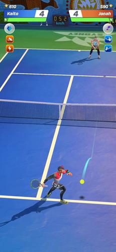 網球傳說3D截圖2