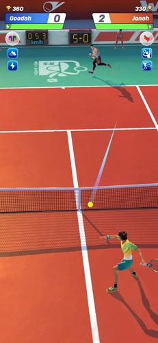 網球傳說3D截圖3
