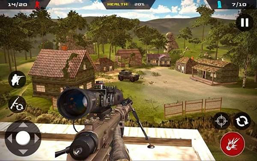 狙擊手幽靈突擊隊戰士截圖1
