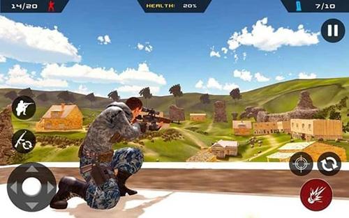 狙擊手幽靈突擊隊戰士截圖4