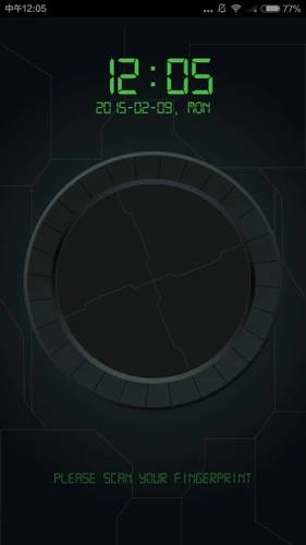 指紋解鎖軟件截圖4