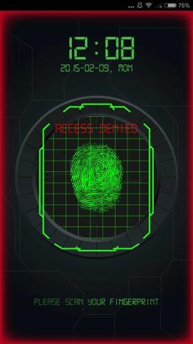 指紋解鎖軟件截圖2