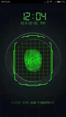 指紋解鎖軟件截圖1