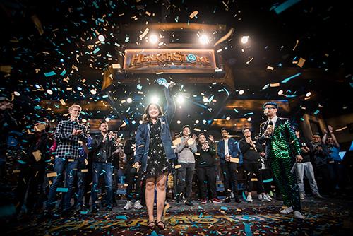 爐石傳說全球總決賽VKLiooon奪冠