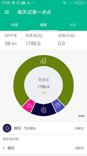 每日记账app截图3