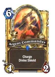 爐石傳說金色銀色指揮官