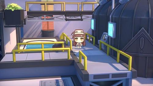 【《蒼藍誓約》3D基建場景-煉油廠】