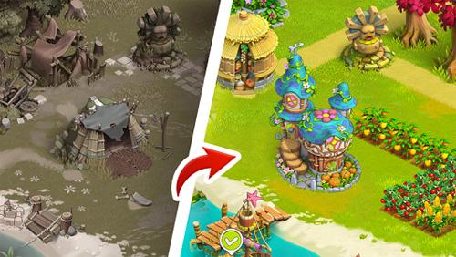 家庭島農場游戲截圖3