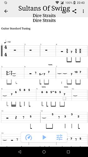 吉他譜搜索app截圖2