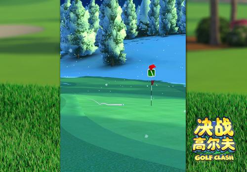 《决战高尔夫》新一期锦标赛带你踏雪寻梅