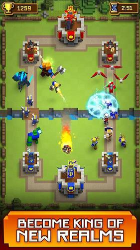 像素冲突:皇室部落战争玩法