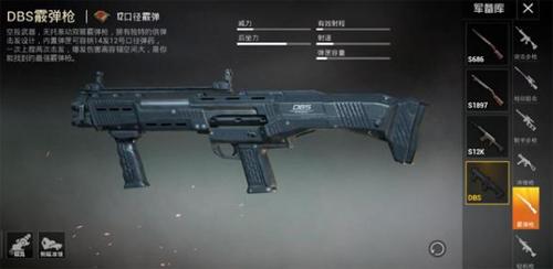 和平精英DBS霰弹枪