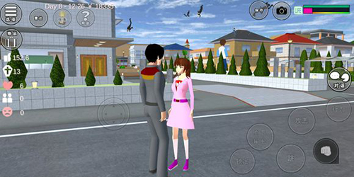 樱花校园模拟器图片