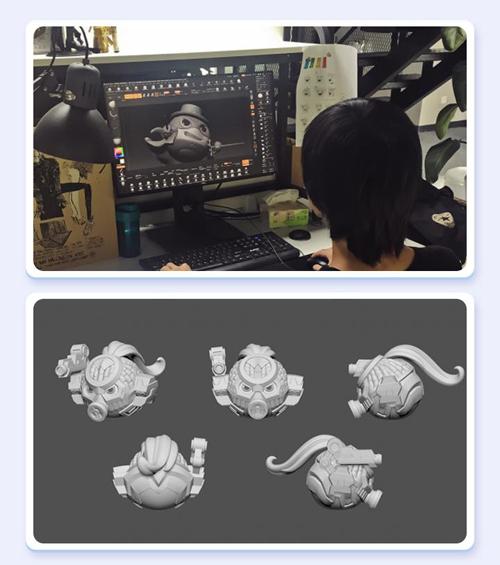 不思议迷宫冈布奥盒蛋3D模型
