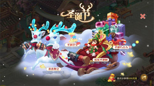 圣誕節福利盛典