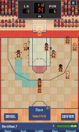 篮球联赛战术截图3