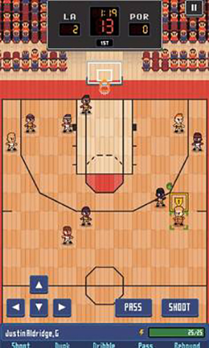 篮球联赛战术截图2
