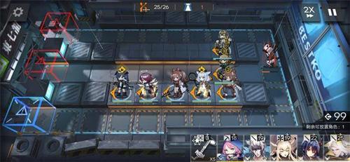 明日方舟S6-3攻略