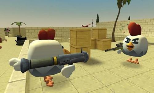 小鸡火力对决截图2