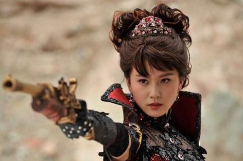 刘诗诗 在《梦回鹿鼎记》中饰演苏菲亚
