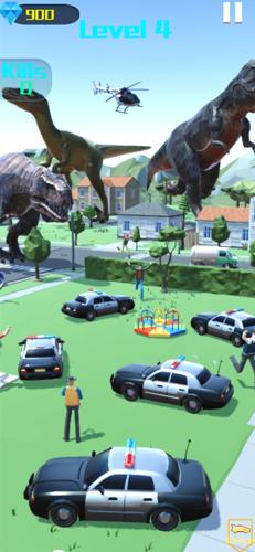 恐龍城市大戰截圖2