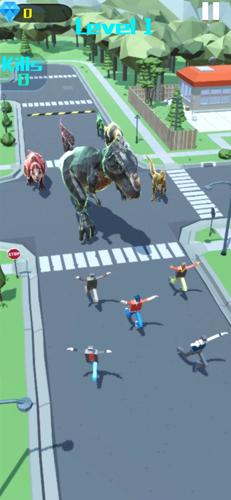 恐龍城市大戰截圖4