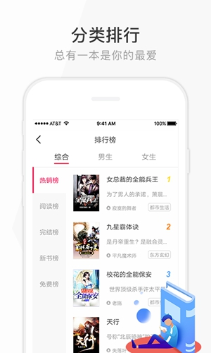 花生讀書app截圖1
