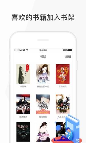 花生讀書app截圖5