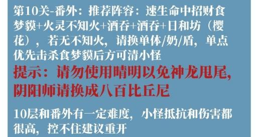 陰陽師安夢奇緣平民陣容3