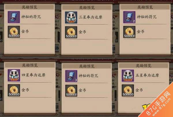 陰陽師新金幣大作戰攻略3