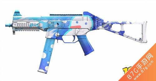 和平精英UMP45雪國精靈皮膚1