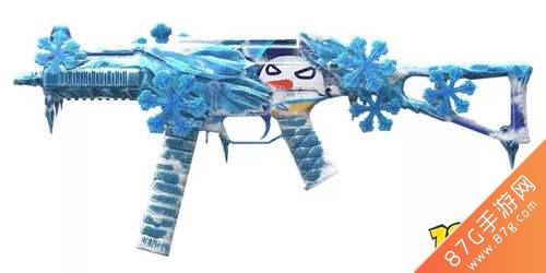 和平精英UMP45雪國精靈皮膚2