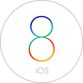 最美iOS8主題鎖屏