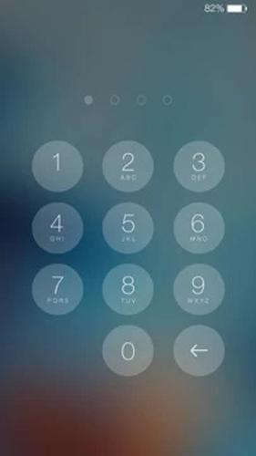 最美iOS8主题锁屏截图5