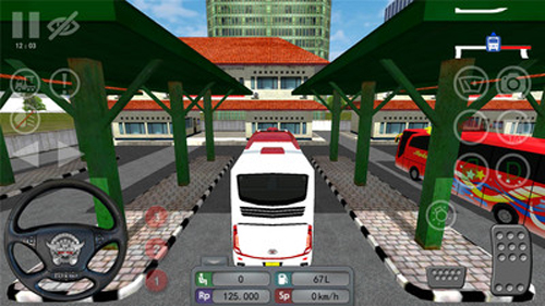 印尼巴士模拟器十八汉化版截图5