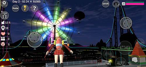 櫻花校園模擬器雙人版截圖5