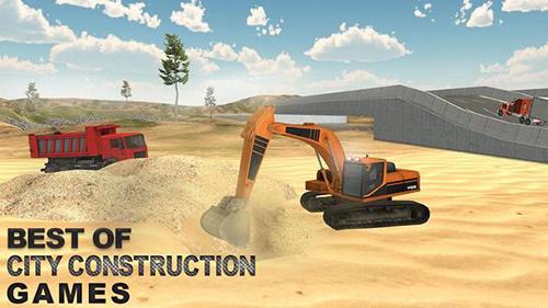 重型挖掘机仿照器截图1