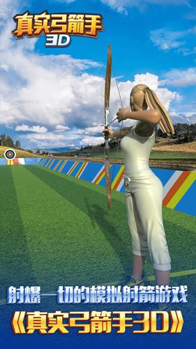 真實弓箭手3D截圖1