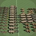 動物史詩般的戰斗模擬器