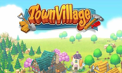 小鎮農場圖片