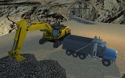 溶洞礦山建設模擬器截圖3