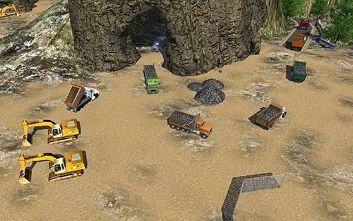 溶洞礦山建設模擬器截圖2