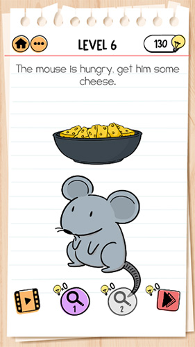 Brain Test 2汤姆的冒险第6关怎样过 给老鼠奶酪通关攻略