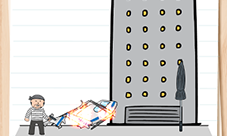 Brain Test 2史密斯探员第19关怎么过 到地面上攻略