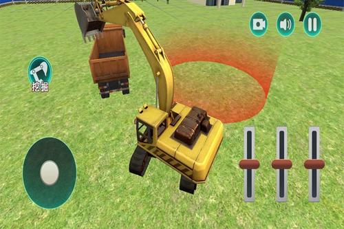 3D挖掘机建造模拟截图5